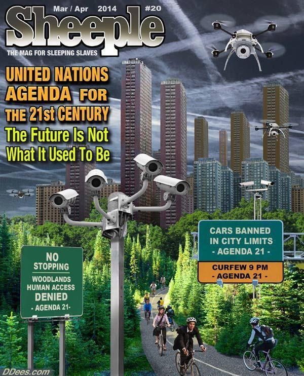 Agenda 21 conspiracy theories