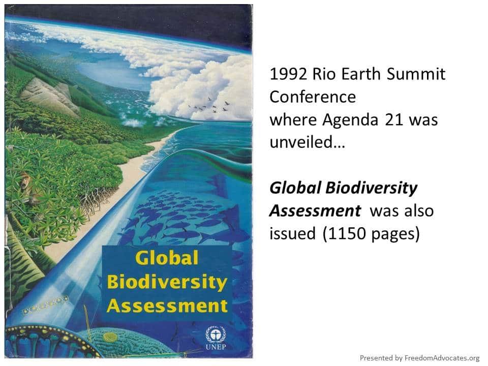 UN Agenda Still Advancing Worldwide Globalization Of California - Agenda 21 map of us